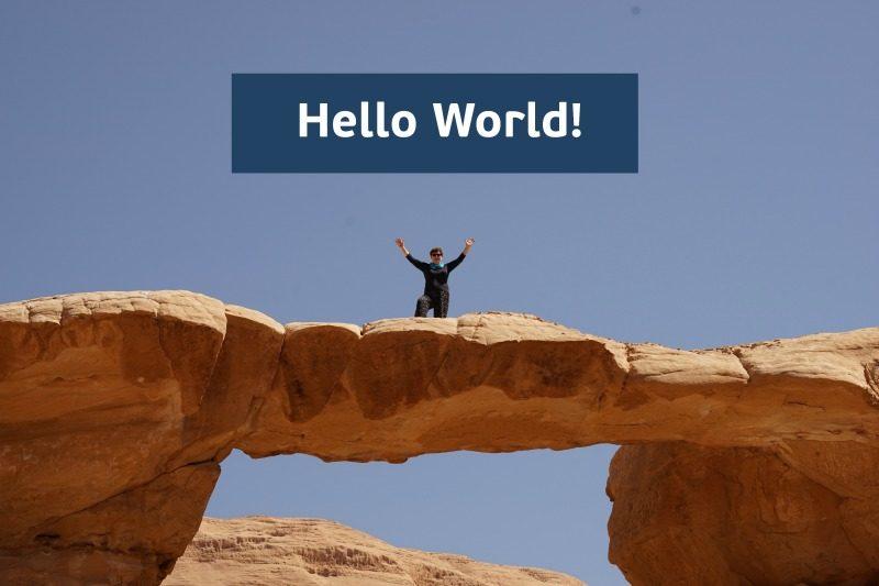 Wadi Rum Hello World