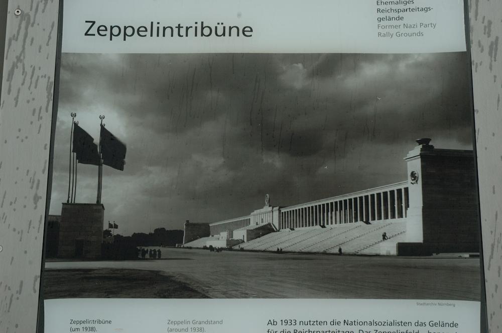 Zeppelintribune at Nuremberg Nazi Rally Grounds