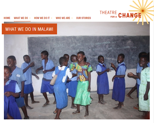 Theatre for a Change - programmes in Malawi