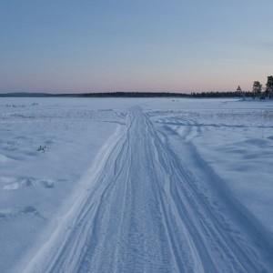 The groove on Lake Inari