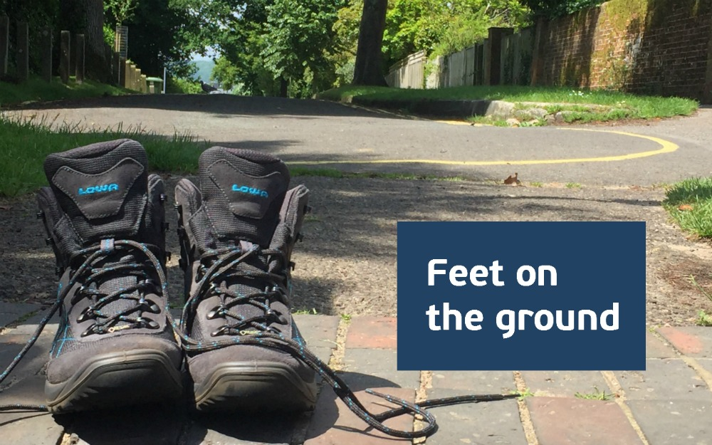 Feet-on-the-ground-v2 Refocussing – One Step At A Time